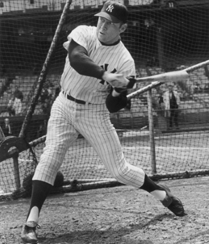 Mickey Mantle's Swing and Hitting Mechanics
