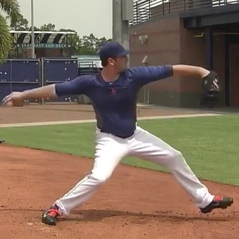 Matt Harvey's Pitching Mechanics - Frame 21